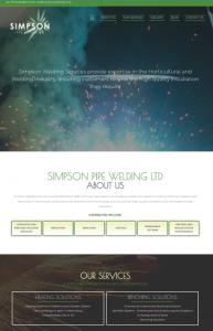 Simpson Welding Website